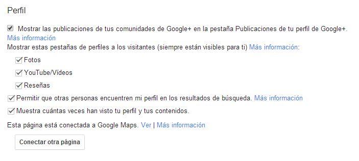 Como fusionar una página de google places y una de google plus