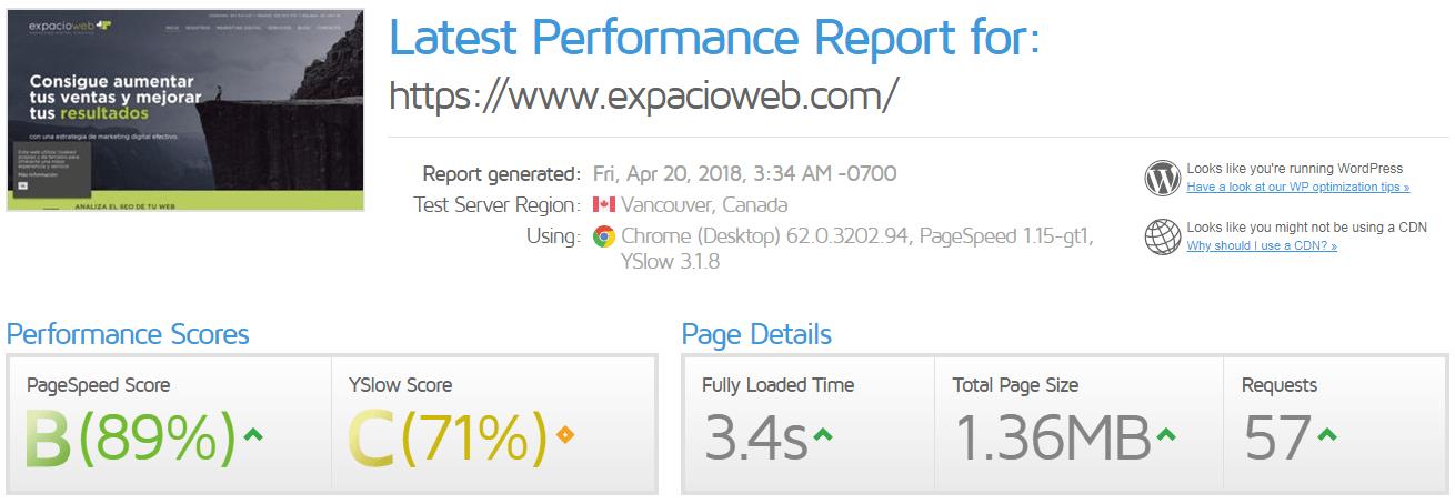 Cómo conseguir que tu web sea más rápida - ExpacioWeb