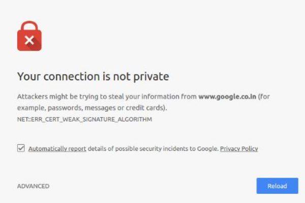 Google marcará como NO SEGURA tu web si no tienes instalado un certificado SSL