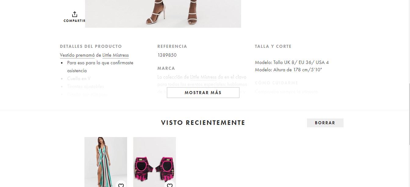 La página de producto perfecta para tu tienda online