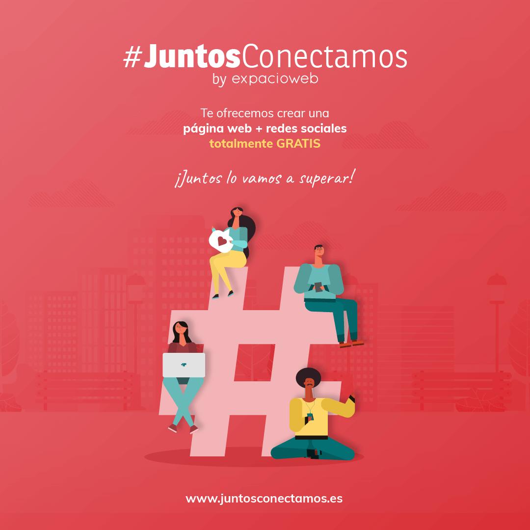 #JuntosConectamos